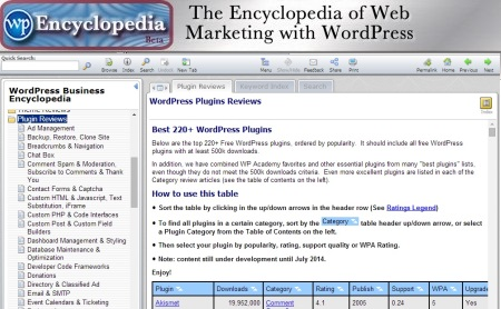 WP Encyclopedia